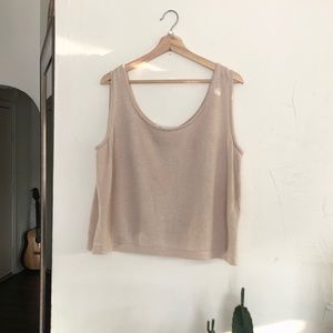 ST. JOHN collection knit top. SZ L.